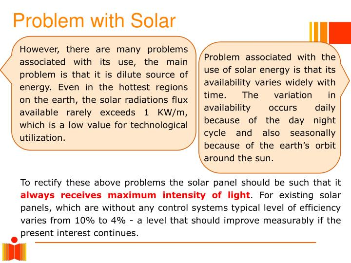 Problem with Solar