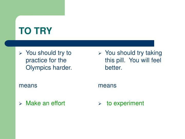 You should try to practice for the Olympics harder.