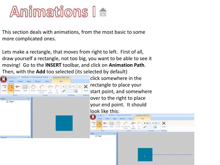 Animations I
