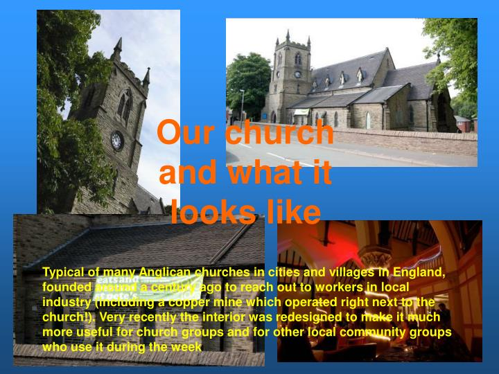 Our church and what it looks like
