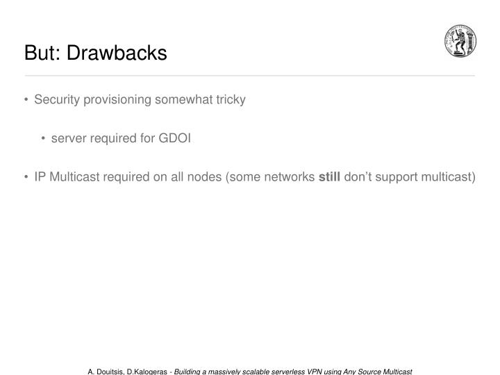But: Drawbacks