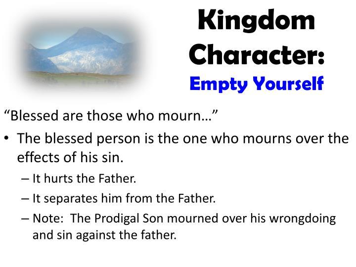 Kingdom Character: