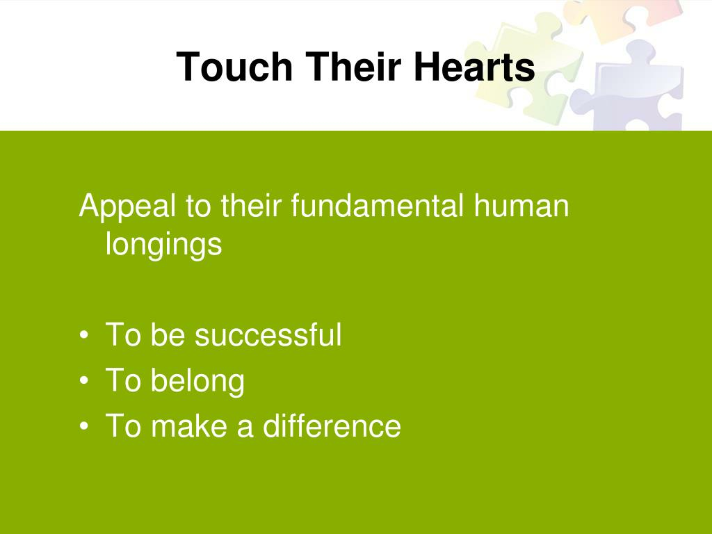 Touch Their Hearts
