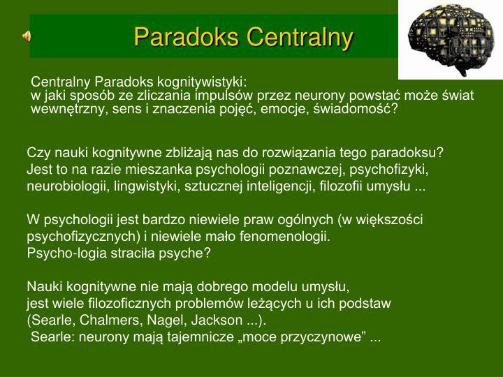 Paradoks Centralny