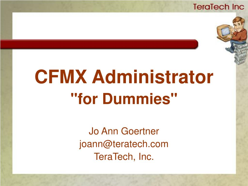 CFMX Administrator
