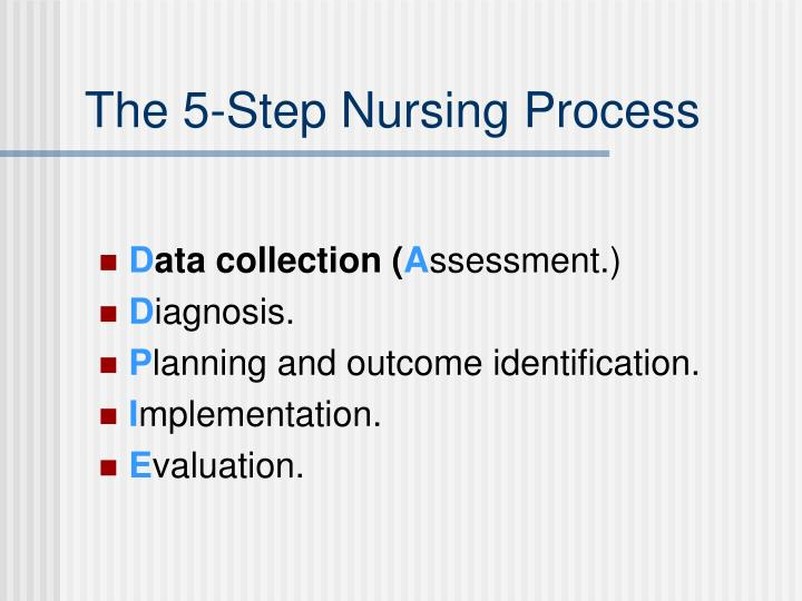 The 5-Step Nursing Process