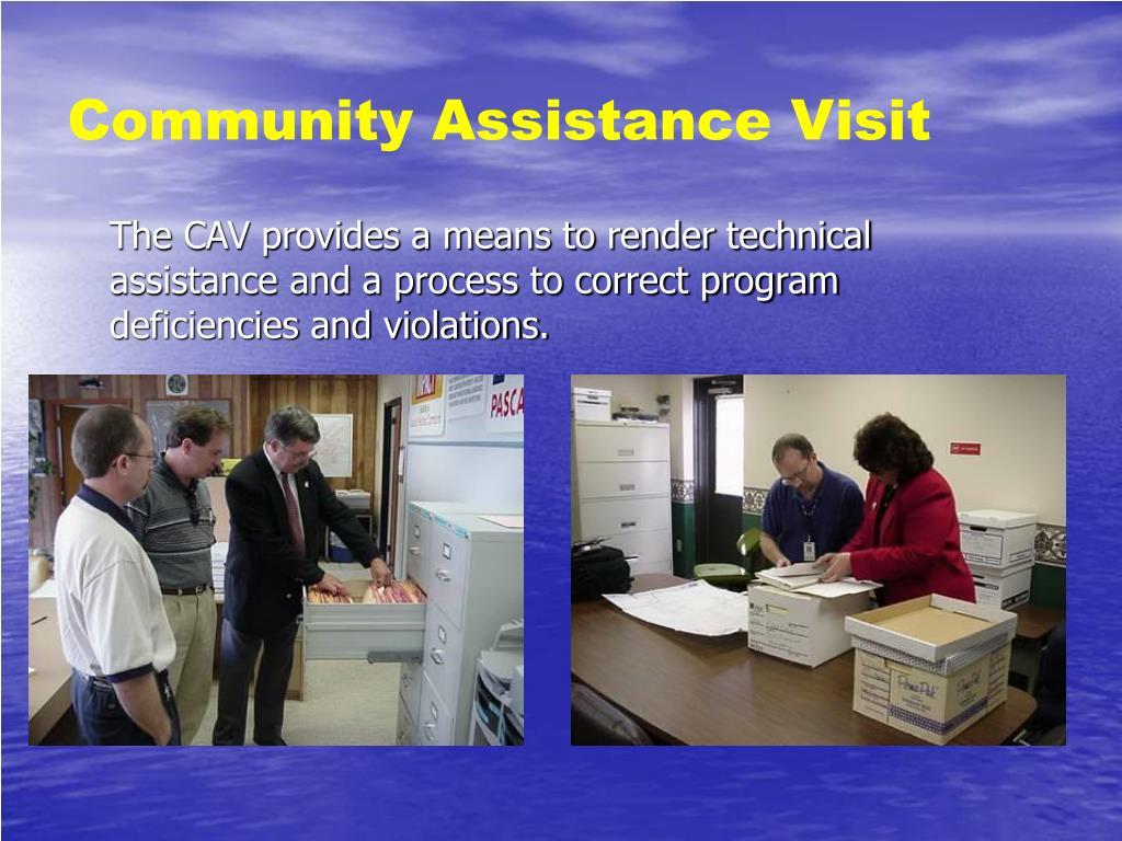 Community Assistance Visit