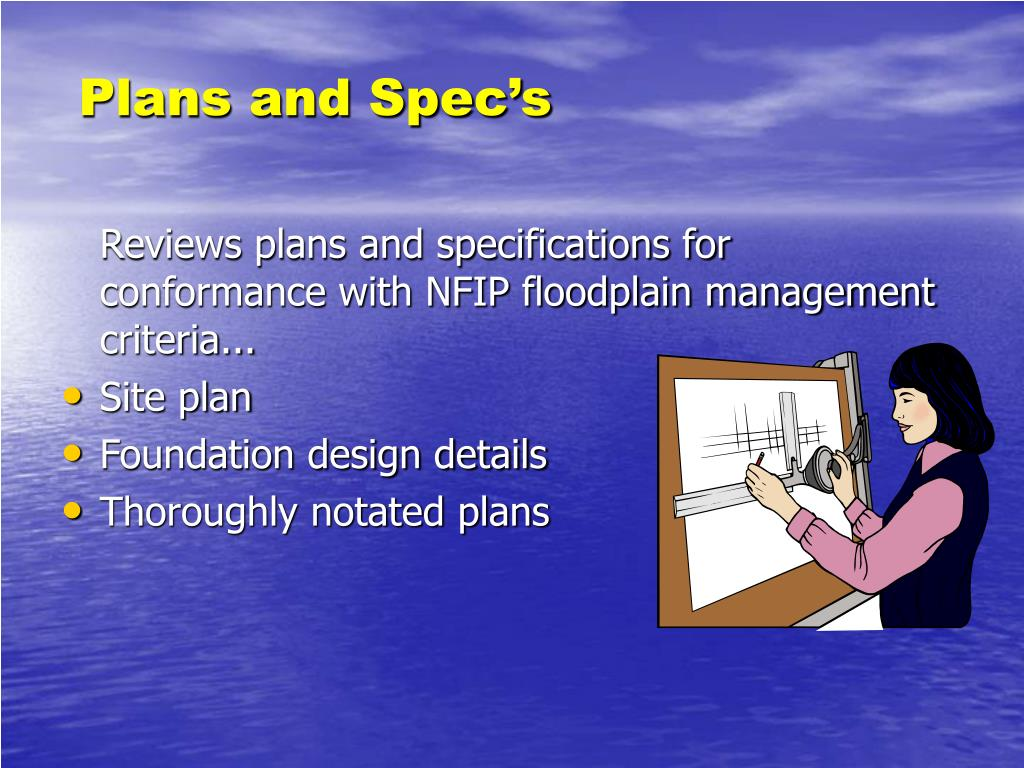 Plans and Spec's