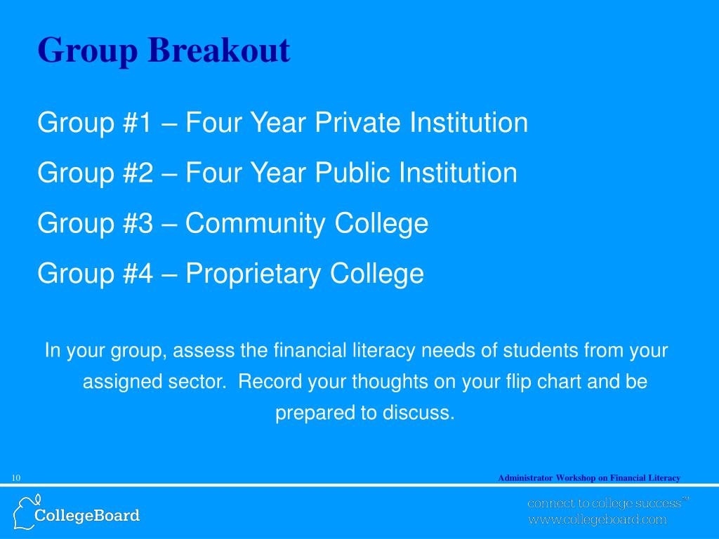 Group Breakout
