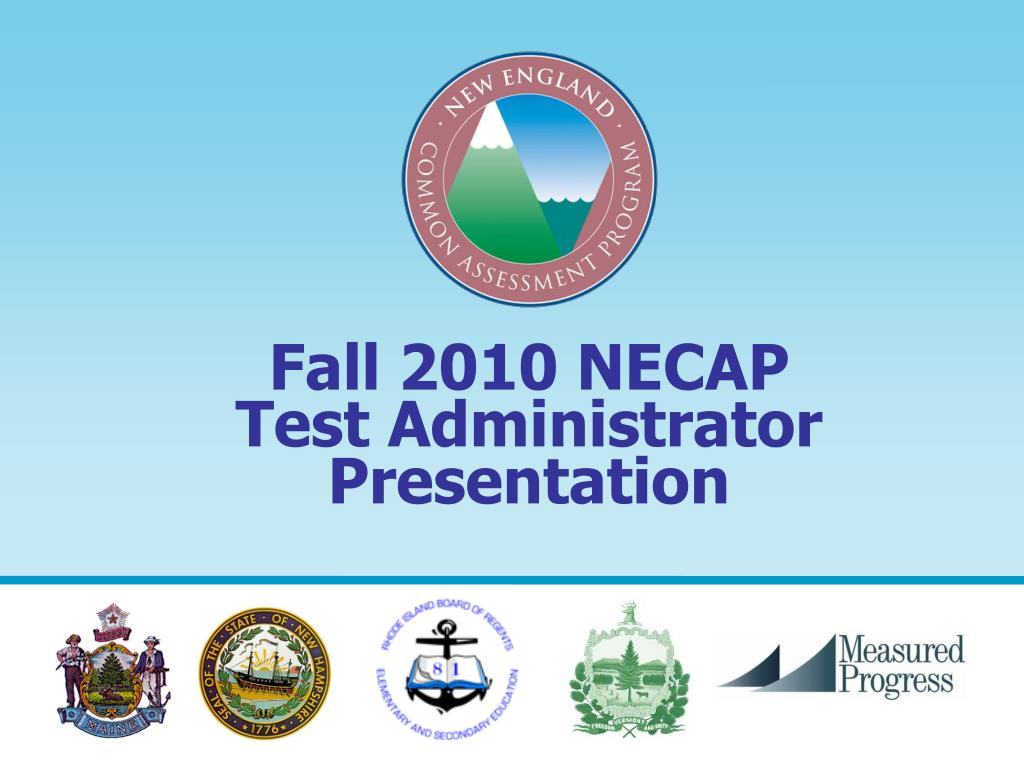 Fall 2010 NECAP