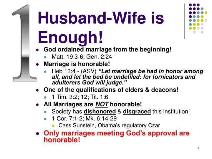 Husband-Wife is Enough!