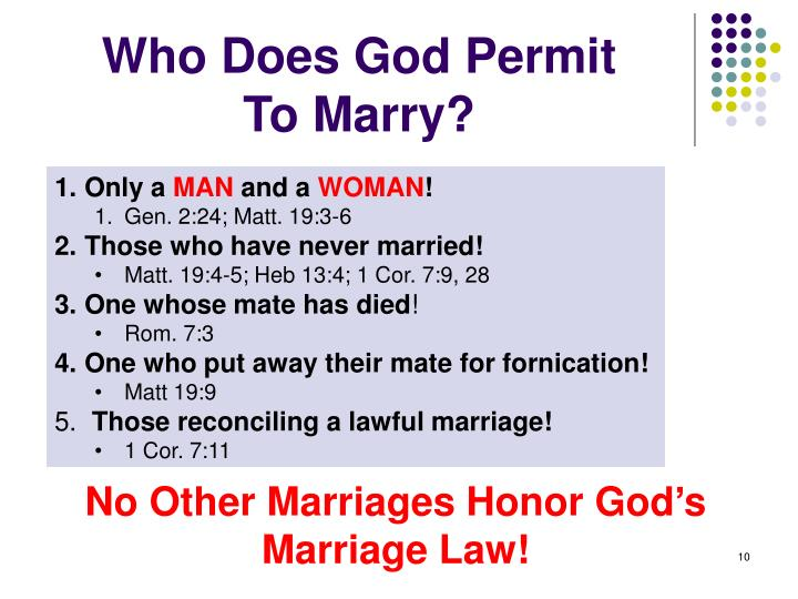 Who Does God Permit
