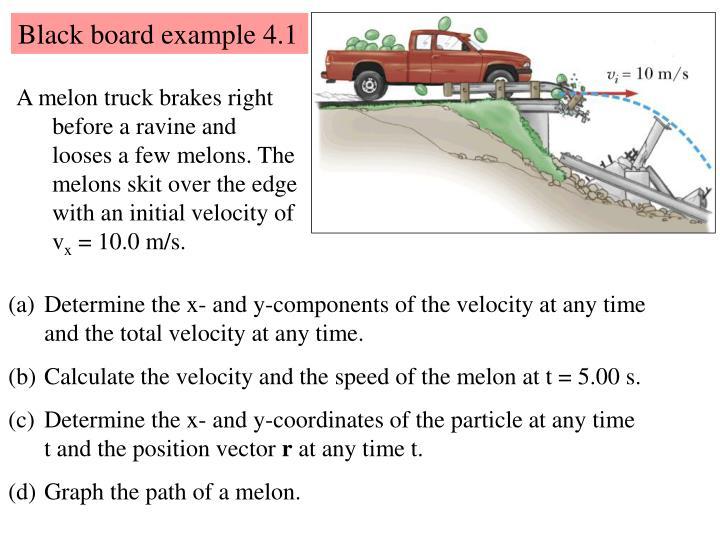 Black board example 4.1