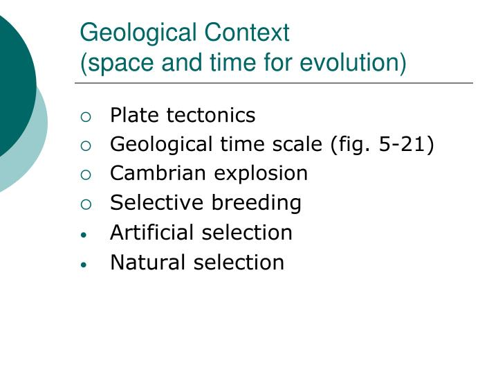 Geological Context