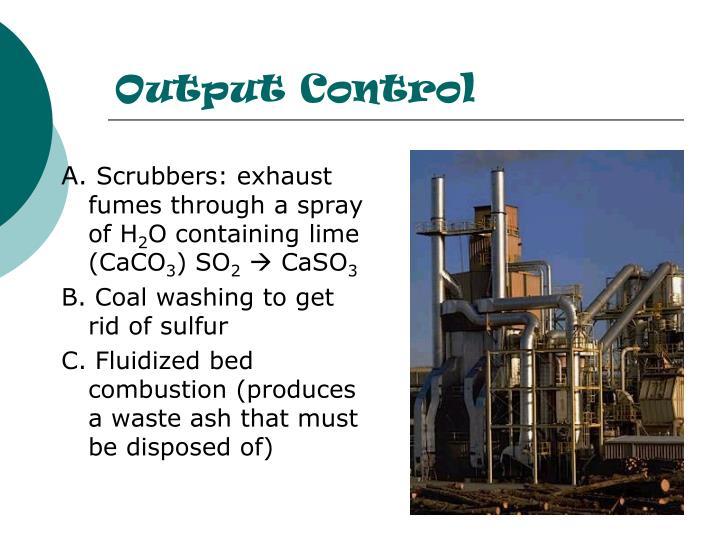 Output Control