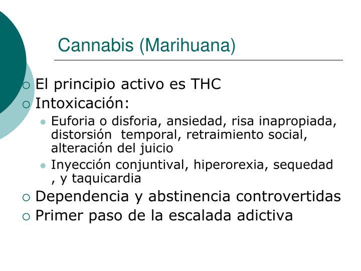 Cannabis (Marihuana)