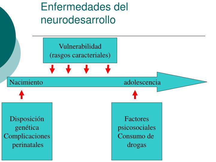 Enfermedades del neurodesarrollo
