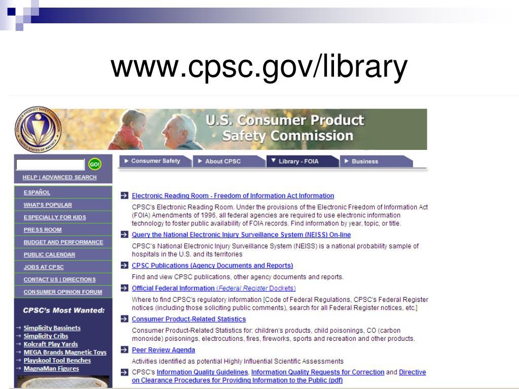 www.cpsc.gov/library
