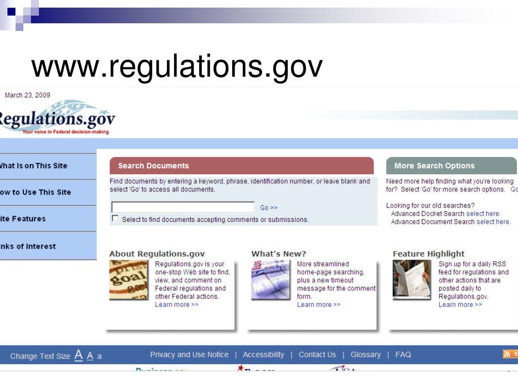 www.regulations.gov