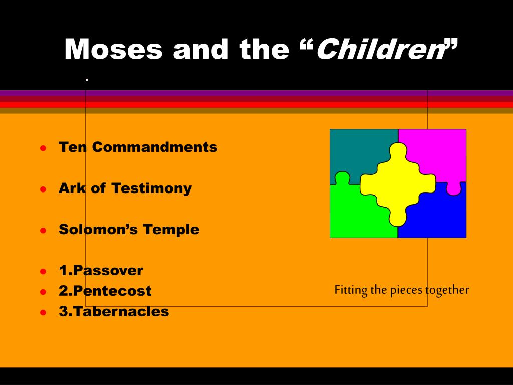 """Moses and the """""""