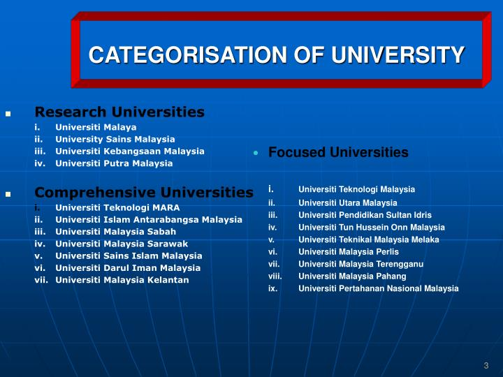 Research Universities