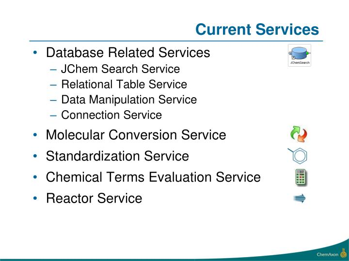 Current Services