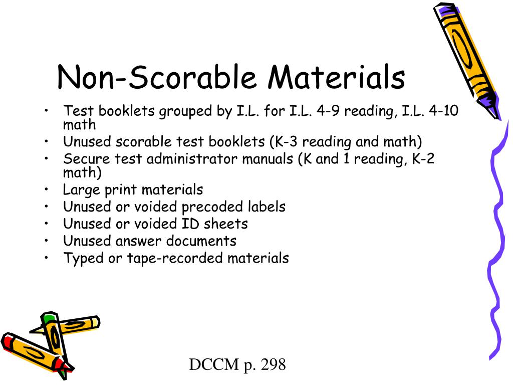 Non-Scorable Materials