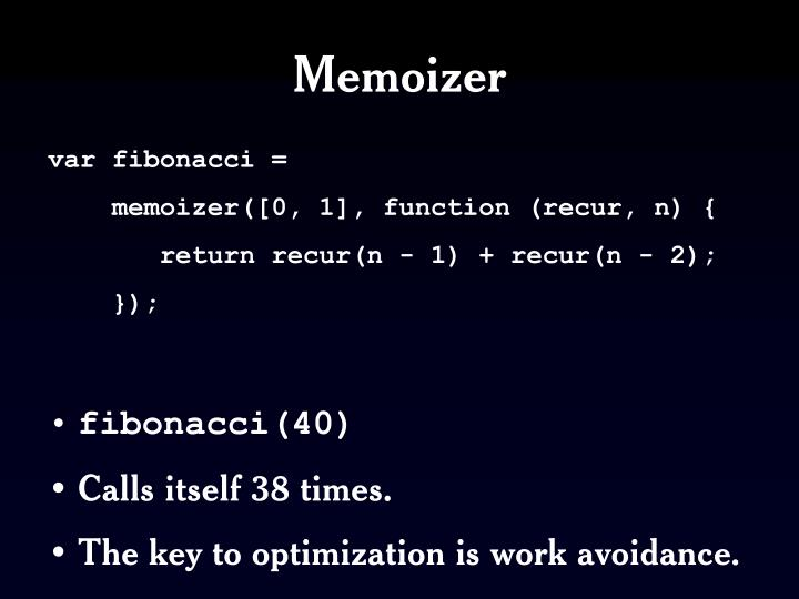 Memoizer