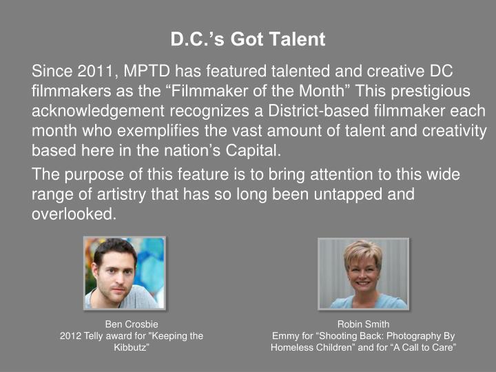 D.C.'s Got Talent