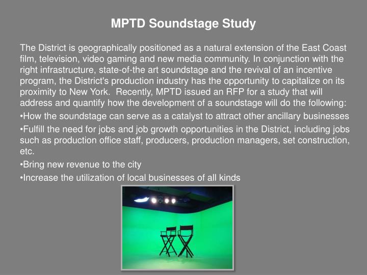 MPTD Soundstage Study