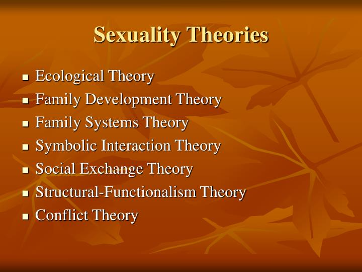 Sexuality Theories