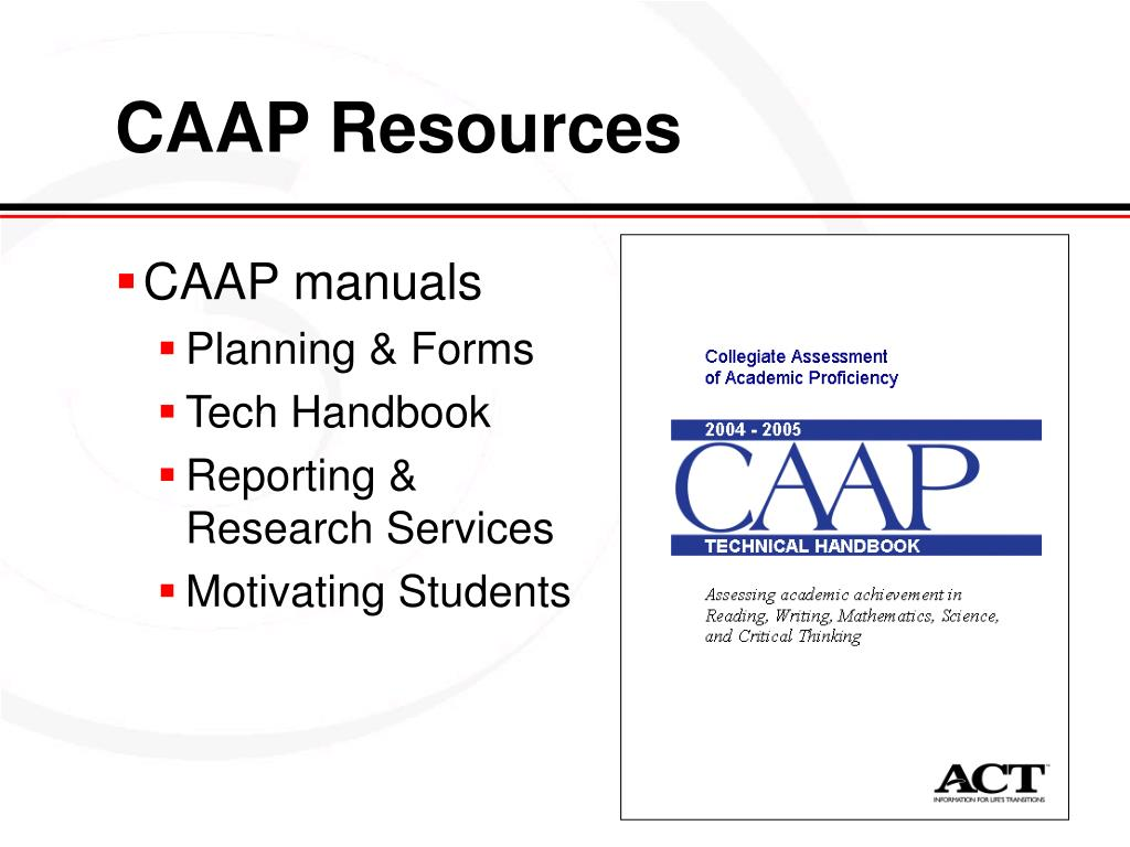 CAAP Resources