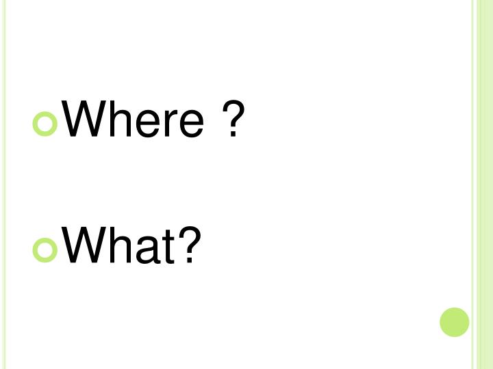 Where ?