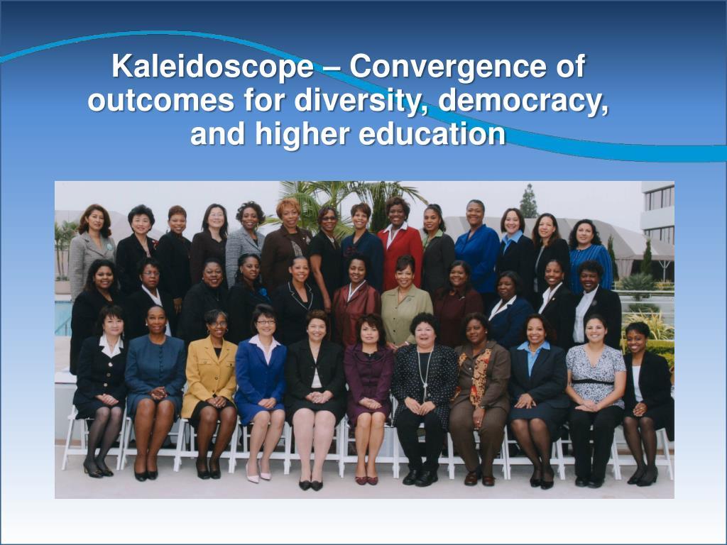 Kaleidoscope – Convergence
