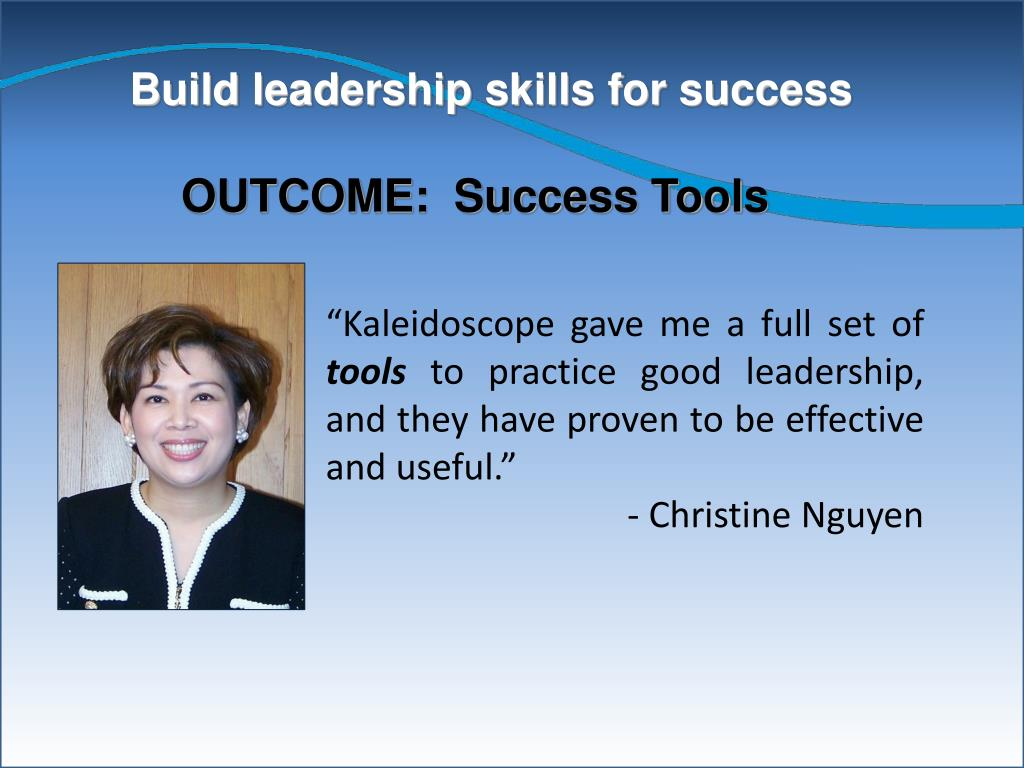 Build leadership skills for success