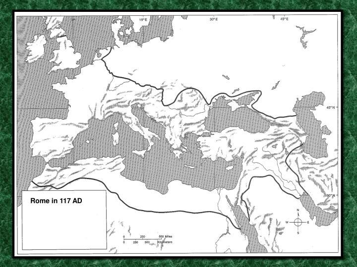 Rome in 117 AD