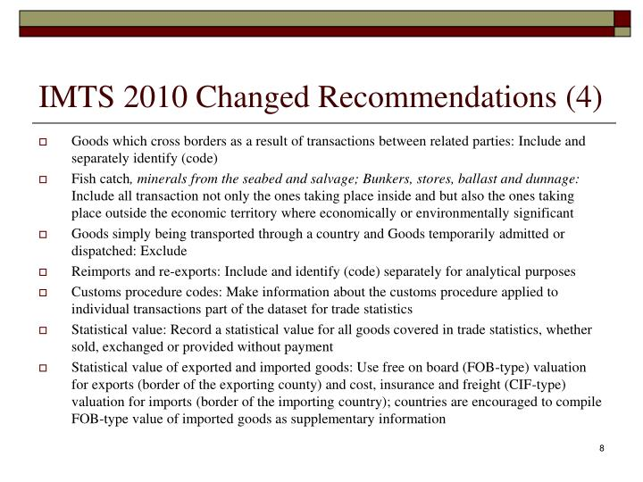 IMTS 2010 Changed Recommendations (4)