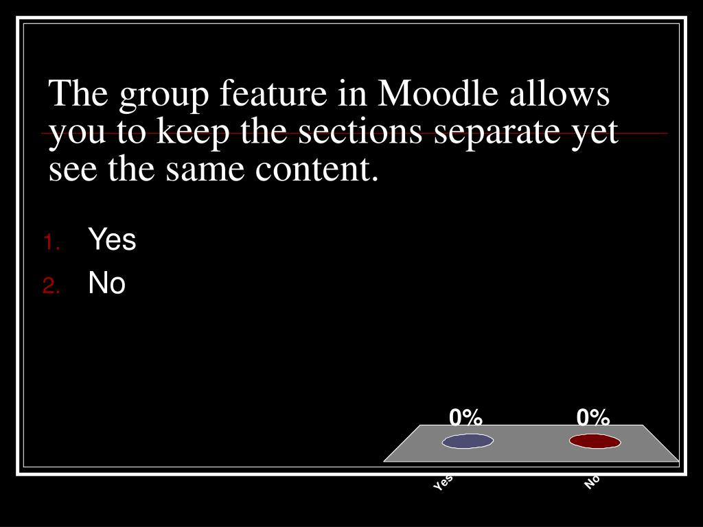 The group feature in Moodle allows you to keep the sections separate yet see the same content.