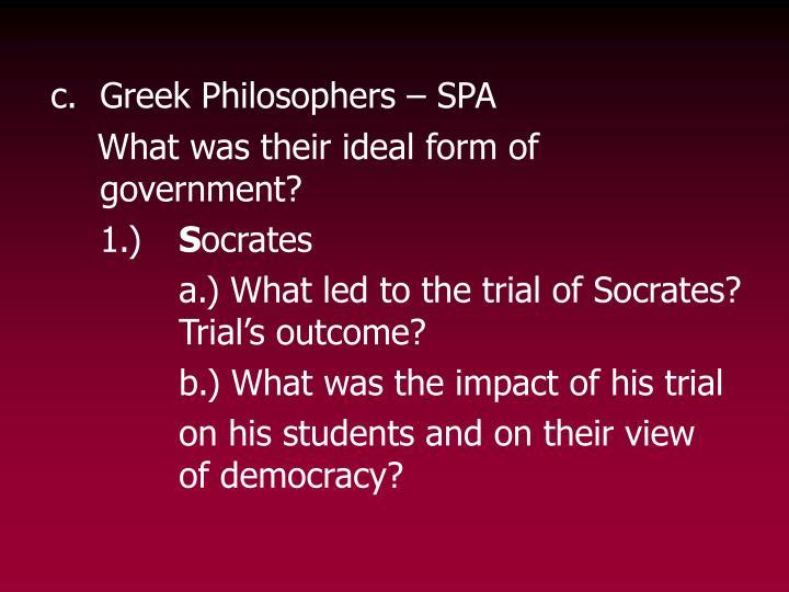 c.Greek Philosophers – SPA