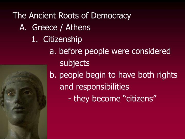 The Ancient Roots of Democracy