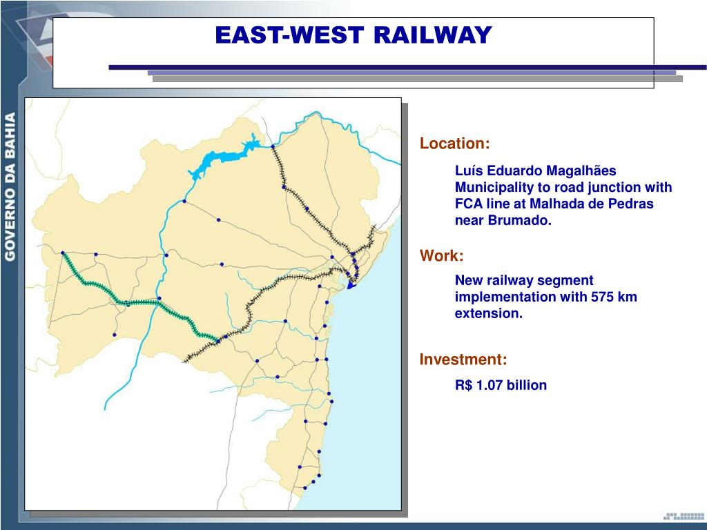 EAST-WEST RAILWAY