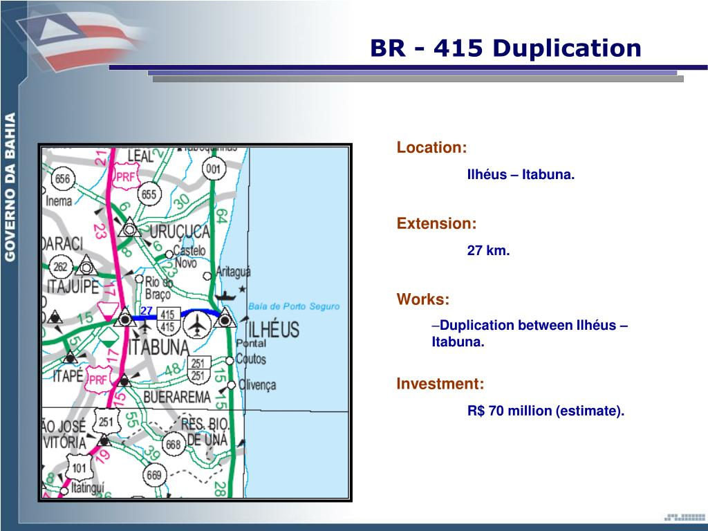 BR - 415 Duplication