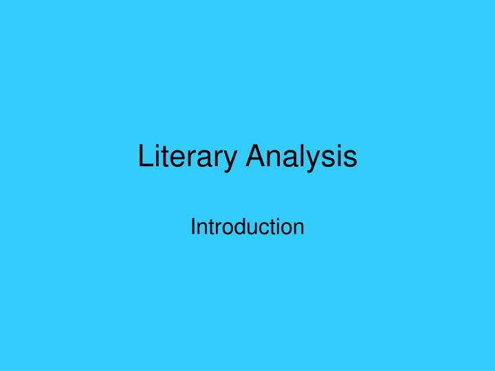 a literary analysis of songs of experience Lyric song analysis project literary devices are techniques used in writing that produce a specific effect most literary devices help the audience focus on.