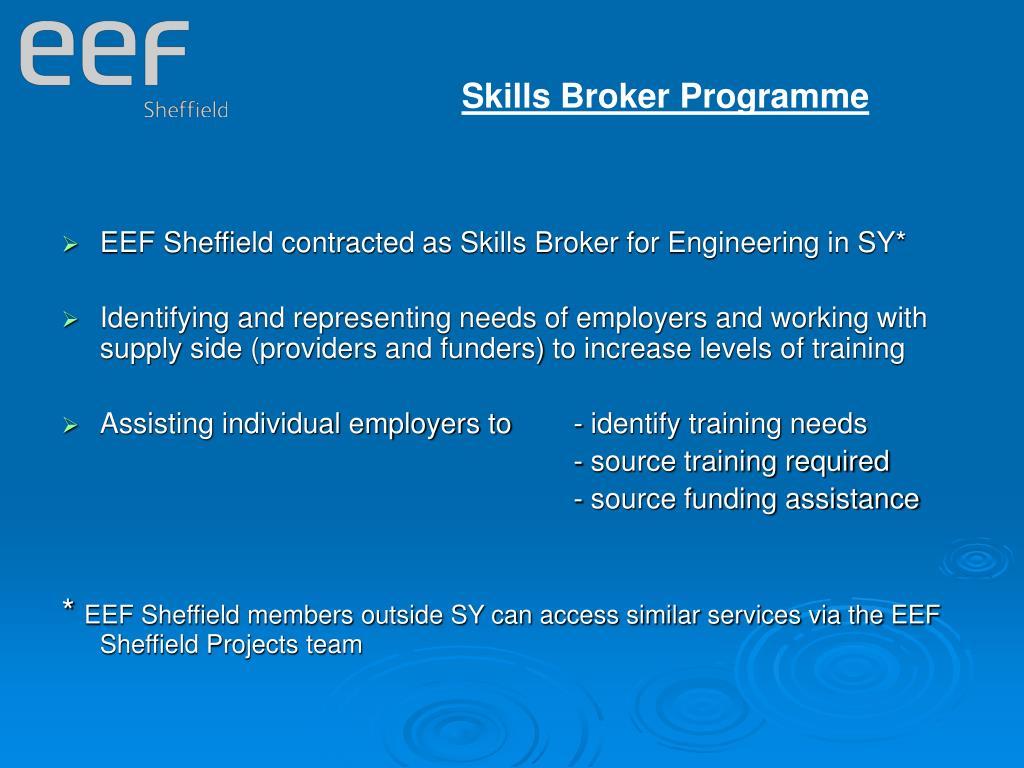 Skills Broker Programme