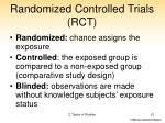 randomized controlled trials rct