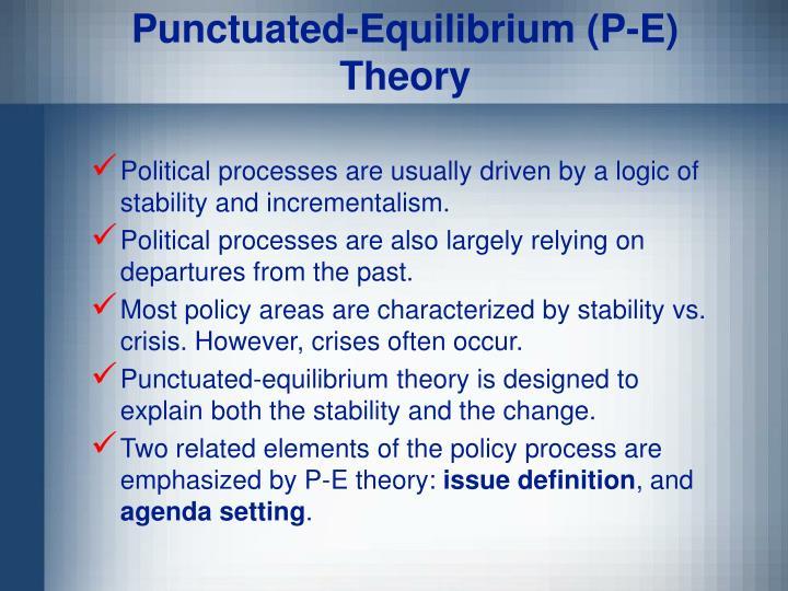 Punctuated-Equilibrium (P-E)