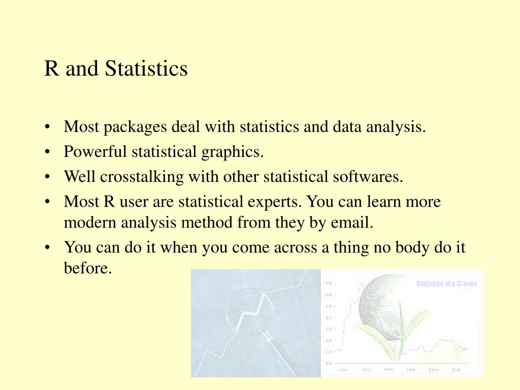 R and Statistics