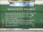 questions for discussion3