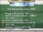 the brown decision 1954