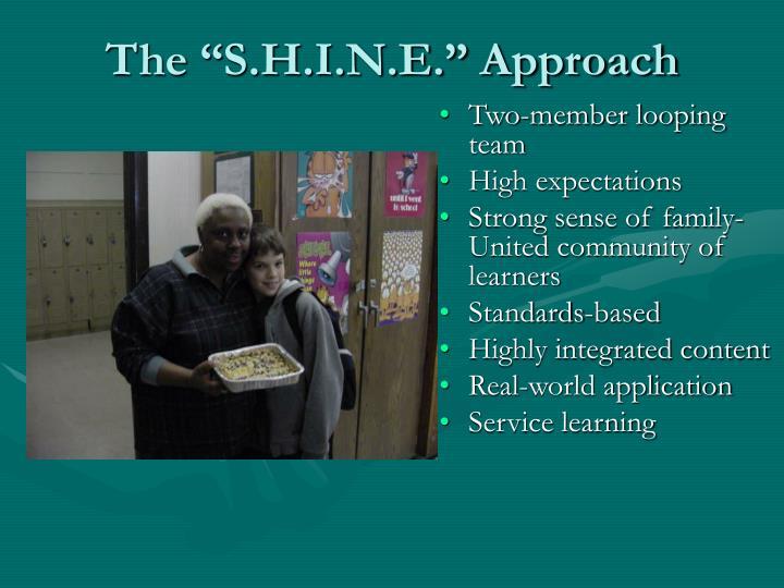 "The ""S.H.I.N.E."" Approach"